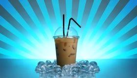 咖啡冷饮料 免版税库存照片