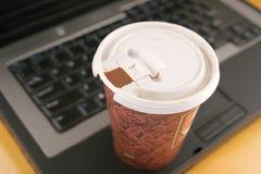 咖啡办公室 免版税库存照片
