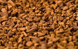 咖啡可溶物 免版税图库摄影