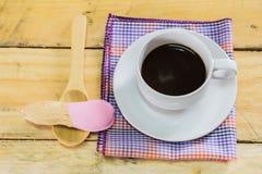 咖啡和巧克力 图库摄影