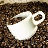 咖啡和杯子 库存图片