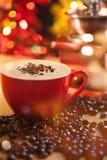 咖啡和磨咖啡器 免版税图库摄影