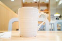 咖啡和等待的早餐 免版税库存图片