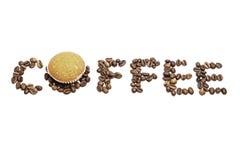 咖啡和蛋糕 图库摄影