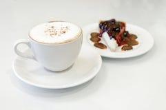 咖啡和面包店 库存图片