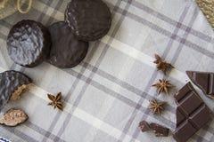咖啡和choco背景06 库存图片