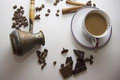 咖啡和choco背景39 图库摄影