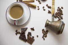咖啡和choco背景37 库存照片