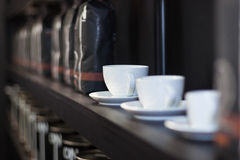 咖啡商店 免版税图库摄影