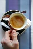 咖啡嗡嗡声 免版税库存照片