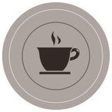 咖啡图标 库存例证