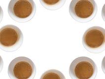 咖啡圈子 免版税库存照片