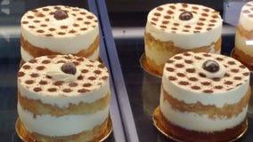 咖啡块菌乳酪蛋糕 库存图片