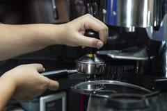 咖啡堵塞器 免版税库存照片