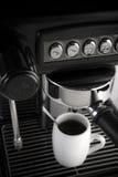 咖啡壶设备 免版税库存照片