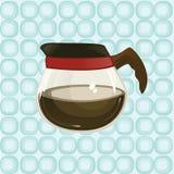 咖啡壶 皇族释放例证