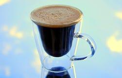 咖啡天空 免版税图库摄影