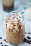 咖啡奶油冰 免版税图库摄影