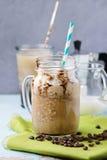 咖啡奶油冰 库存图片