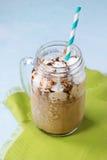 咖啡奶油冰 库存照片