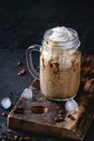 咖啡奶油冰 免版税库存照片