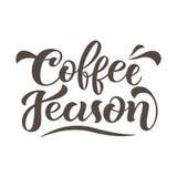 咖啡季节 皇族释放例证