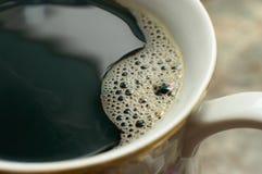 咖啡宏指令 免版税库存照片