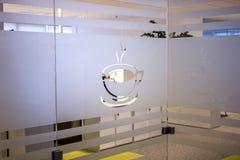 咖啡室 免版税图库摄影