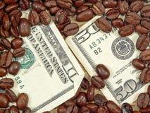 咖啡富有 库存照片