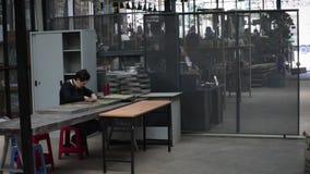 咖啡工厂在越南 影视素材