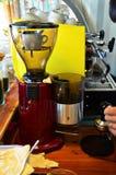 咖啡店在泰国 库存图片