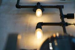 咖啡店或自助食堂为使用作为背景 免版税库存图片