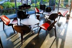 咖啡店的内部和装饰,咖啡馆 库存图片