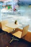 咖啡店的内部和装饰,咖啡馆 库存照片