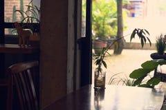 咖啡店装饰 免版税库存图片