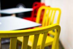咖啡店颜色 免版税库存照片