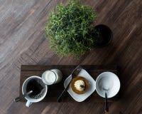 咖啡店Edibles 图库摄影