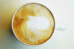 咖啡心情 库存图片