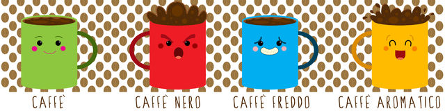 咖啡心情 免版税库存照片
