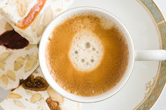 咖啡快餐 免版税库存图片