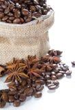 咖啡成份 免版税图库摄影