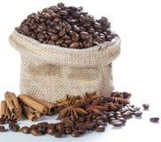 咖啡成份 库存图片