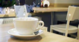 咖啡或茶的杯 库存照片