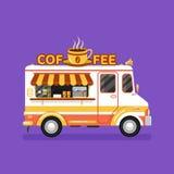 咖啡搬运车 免版税库存照片
