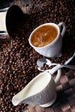 咖啡收集1 免版税库存照片