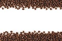 咖啡数据条 免版税库存照片