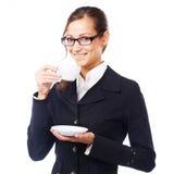 咖啡断裂 免版税图库摄影