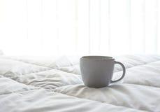 咖啡新早晨 免版税库存图片