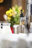 咖啡旅馆自助餐 免版税库存图片