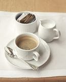 咖啡早晨集 库存图片